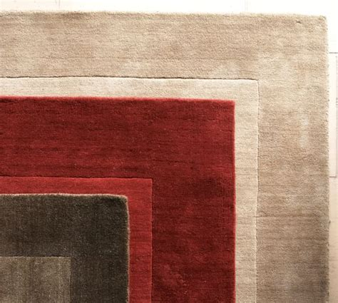 Henley Rug Cranberry Pottery Barn Pottery Barn Henley Rug