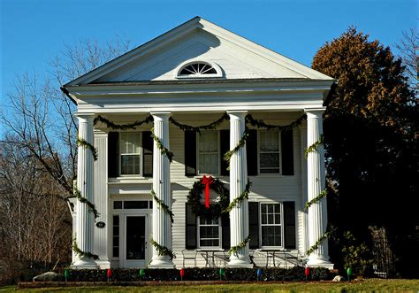 american colonial architecture american colonial architecture christmas photograph by leeann mclanegoetz mclanegoetzstudiollccom