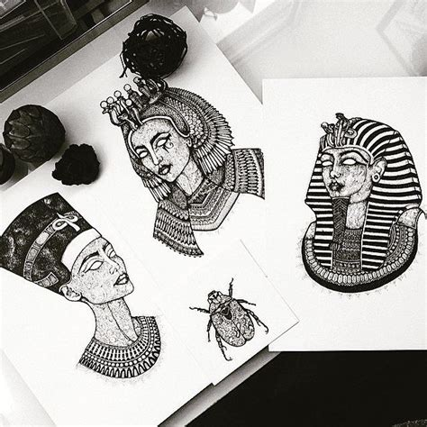 ancient art tattoo 25 best ideas about nefertiti on