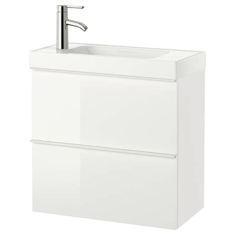 Wash Stand With Drawers by Br 197 Viken Godmorgon Wash Stand With 2 Drawers High Gloss