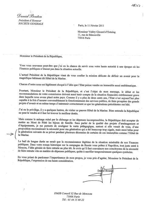 Exemple De Lettre D Honneur 187 Lettre Ouverte 224 Daniel Bouton