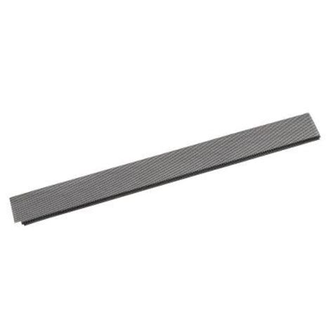 lock on gutter guard 441 503 amerimax home products 3 ft brown lock on gutter guard