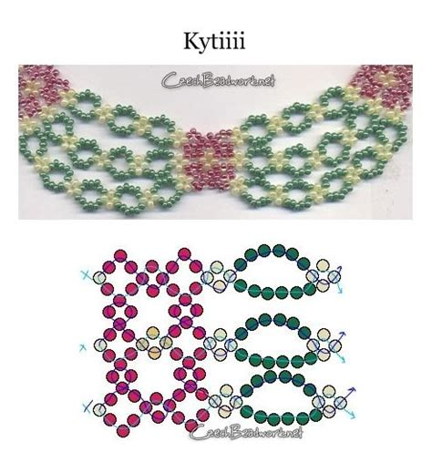 free easy seed bead patterns best 25 beaded necklace patterns ideas only on