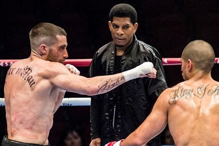 southpaw back tattoo jake gyllenhaal southpaw review comingsoon net