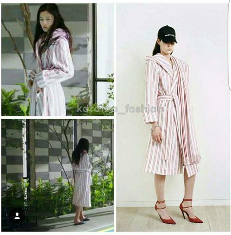 Mini Dress Kemeja Hq 16396 Blue Stripe Shirt Dress dress up like shim cheong k drama amino