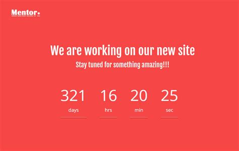 free responsive coming soon page template orange coming soon html responsive template