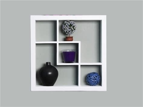 wooden display shelf 16 inch modern display