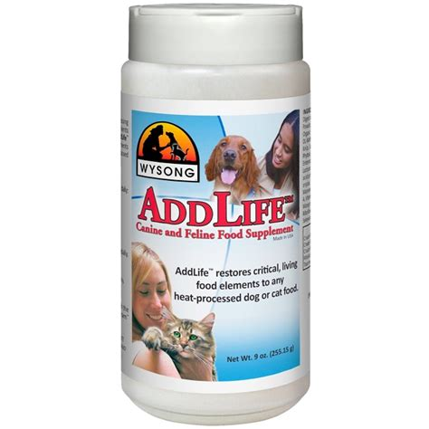 wysong food wysong addlife canine feline food supplement naturalpetwarehouse