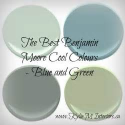 Benjamin Moore Most Popular Greens The Best Benjamin Moore Cool Colours Most Popular Blues