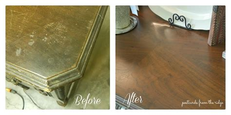 how to refinish a wood how to refinish wood furniture postcards from the ridge