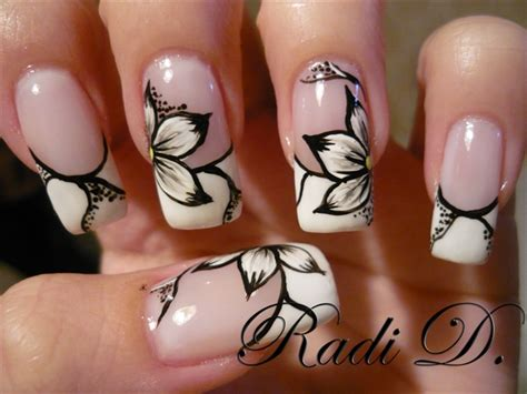 tutorial nail art french gel gel nails nail art gallery step by step tutorial photos