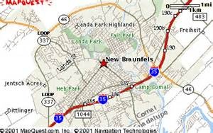 where is new braunfels map new braunfels