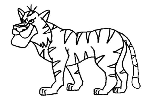 printable jungle animal coloring pages jungle animals coloring pages coloringpagesabc 532703