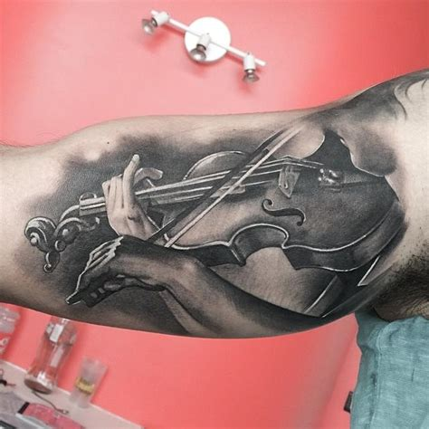 violin tattoo gallery violin tattoo by matteo pasqualin tattoonow