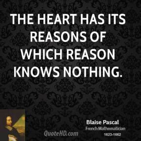 the heart has its blaise pascal valentine s day quotes quotehd