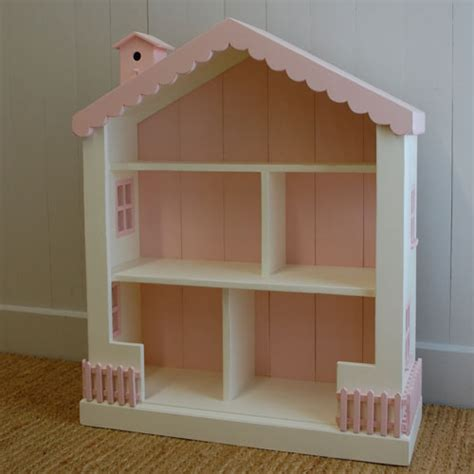 dollhouse kids bookcase white pink foremost cottage dollhouse bookcase and luxury kid furnishings
