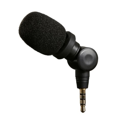 iphone microphone saramonic microphone for apple iphone and ipod touch