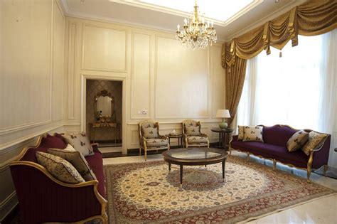 desain interior ruang tamu mewah  rumah klasik