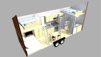 talented architect tackles the tiny house and comes up mini homes dupuis floor plan l lakewood custom homes