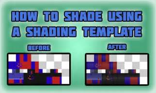minecraft shade template how to shade skins using shading templates minecraft