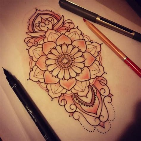 wrist tattoo sketches teardrop mandala search desire