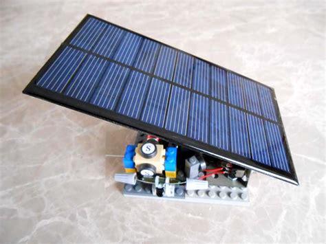 Solar Electric Motor by Solar Power Module Simple Electric Motors