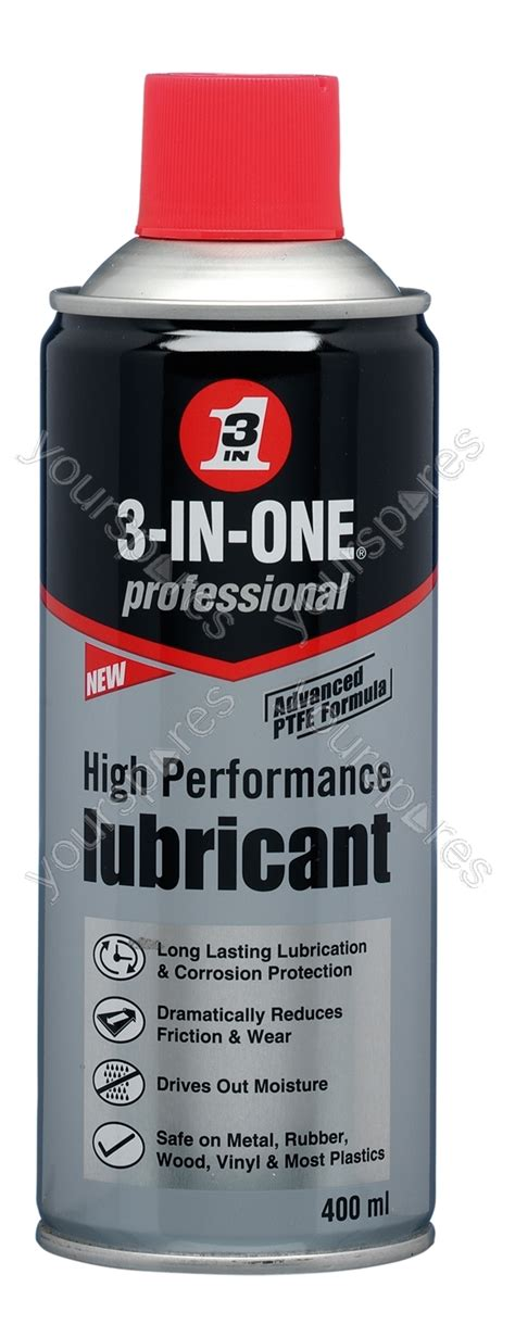 Wd 40 High Performance Ptfe Lubricant wd 40 400ml high performance lubricant wd1022 by wd 40