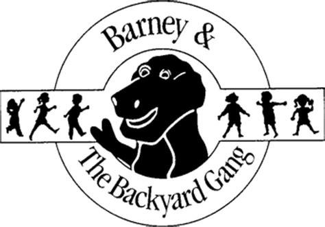 barney and the backyard gang logo image bygloo png barney wiki