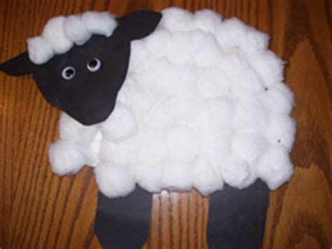 Paper Plate Sheep Craft - sheep paper plate projects