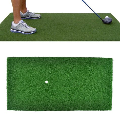 backyard golf practice 60x30cm green golf practice mat indoor training backyard