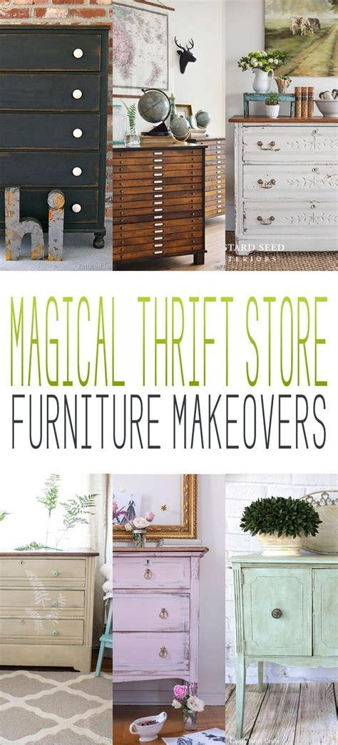 Thrift Store Furniture Makeovers by 1000 Images About Thrift Store Makeovers On