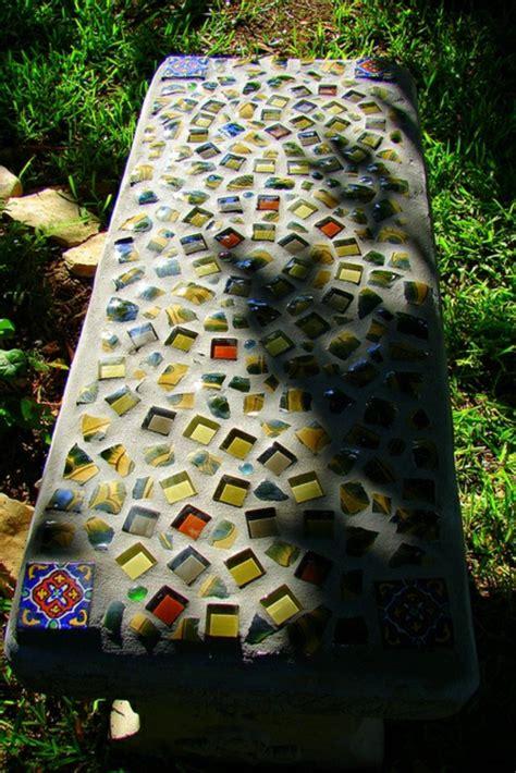 mosaik im garten gestaltung mosaik basteln stein mosaik im garten