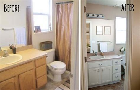 Before And After Shower by Paint Bathroom Vanity White Images