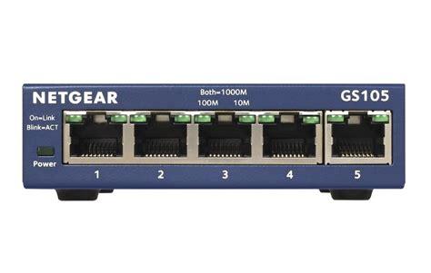 netgear prosafe 5 gigabit switch gs105 netgear prosafe gs105 5 gigabit switch ebuyer