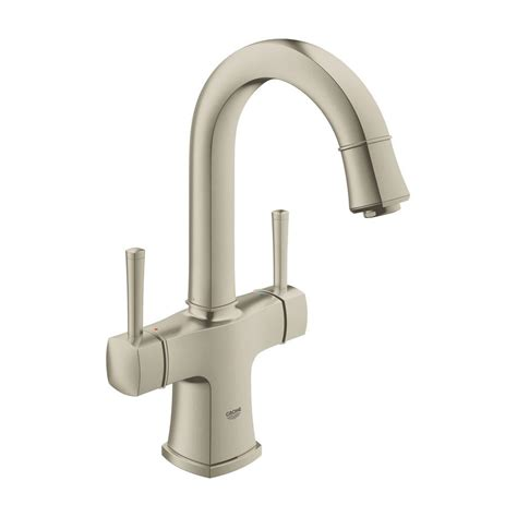 grohe single hole bathroom faucet grohe grandera single hole 2 handle 1 2 gpm bathroom