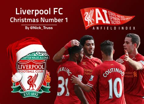 liverpool fc christmas number 1