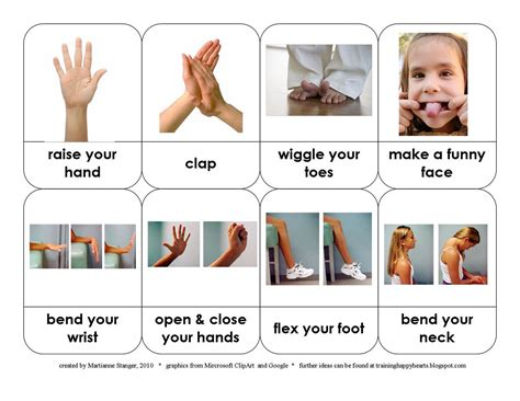 printable montessori action cards montessori monday montessori inspired movement activities