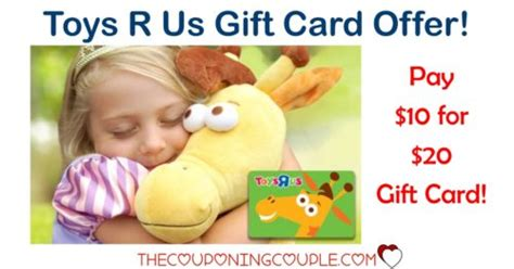 Toys R Us Gift Card Balance Check - 20 00 toys r us gift card for only 10 00 check it out
