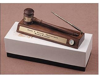Lawyer Desk Accessories Gift For Judge Or Lawyer Gavel Desk Set For Counsel