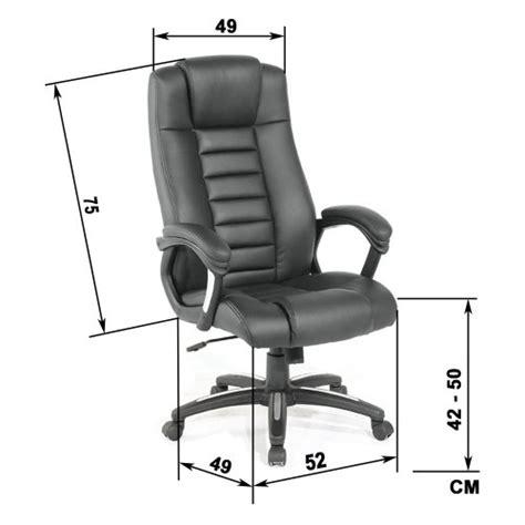 chaise de bureau de luxe tectake de luxe chaise fauteuil si 232 ge de bureau hauteur