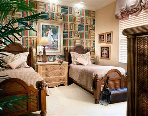 wallpaper that looks like bookshelves decoration bedrooms wallpaper that looks like