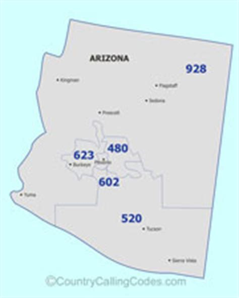 us area code and country code arizona united states area code and arizona united states