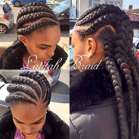 jumbo cornrow hairstyles 31 cornrow styles to copy for summer page 3 of 3 stayglam