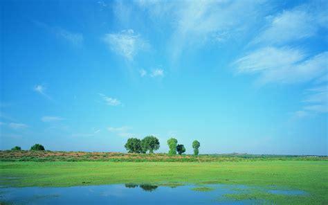 blue sky landscape blue sky prairie scenery 22900 wallpapers landscape