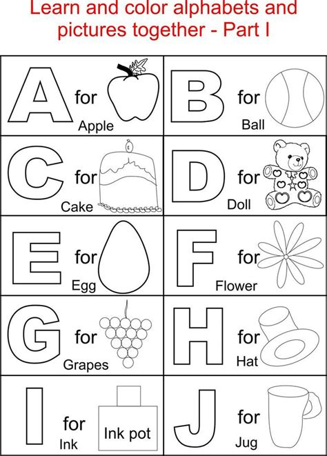 My Best Abc Alphabet Book best 25 alphabet coloring pages ideas on abc