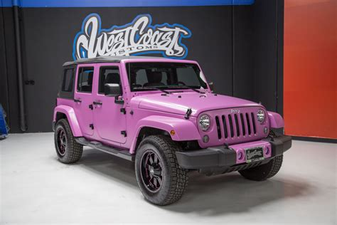 matte pink jeep 187 photo 1 of 2015 hsv supercharged wrangler jeep jk in