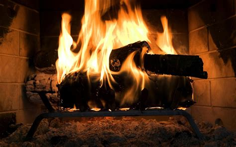 fireplace screensaver free