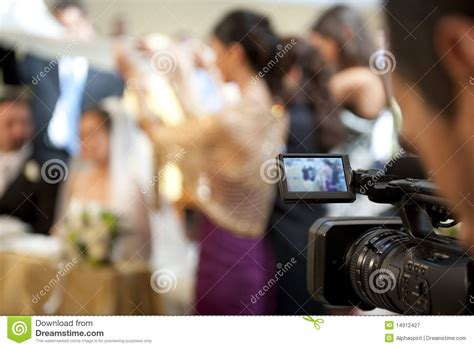 Wedding Cameraman by Cameraman And Marriage Royalty Free Stock Photography