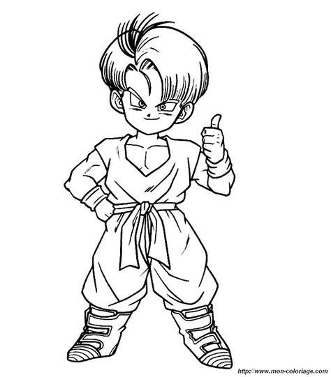 Dessin De Dragon Ball Z Sangoku Az Coloriage