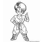 112 Dessins De Coloriage Dragon Ball Z &224 Imprimer Sur